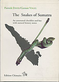 Book: The Snakes of Sumatra